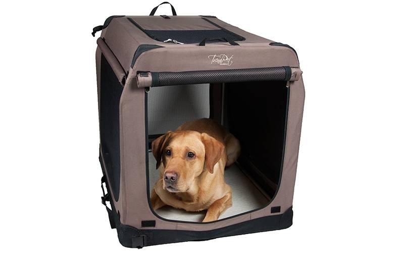 opvouwbare hondenbench soft kennel beige maelson in de aanbieding kopen. Black Bedroom Furniture Sets. Home Design Ideas