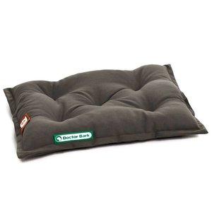 Doctor Bark Dog Cushion Mouse Grey