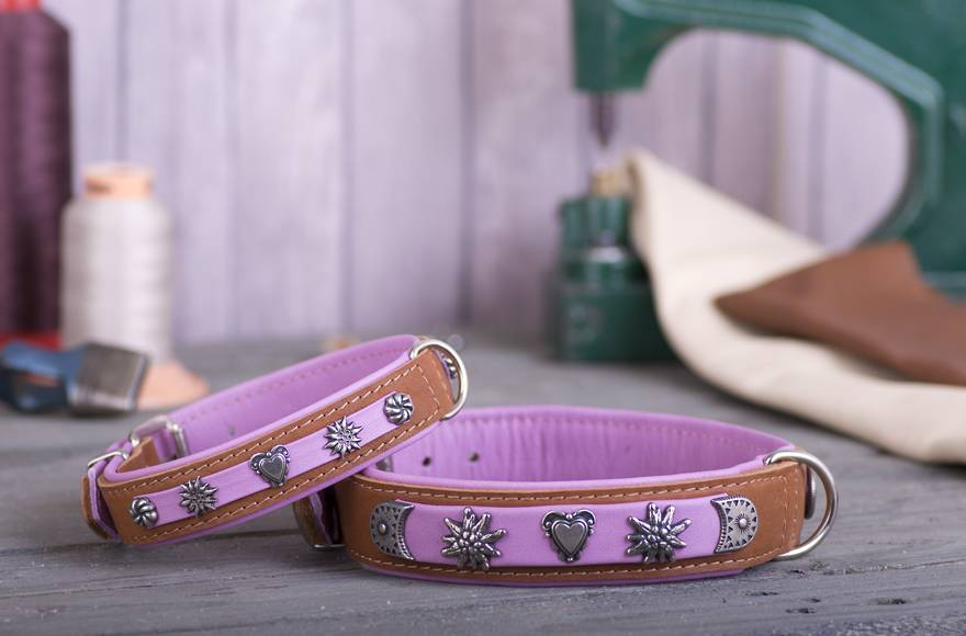Hondenhalsband Sissi Roze