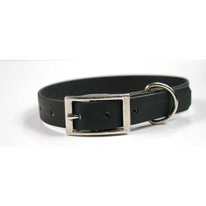 EQuest 4dogs Dog Collar Black Biothane