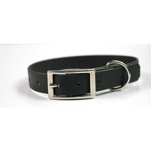 EQuest 4dogs Hondenhalsband Biothane Zwart