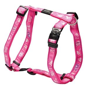 Rogz Dog Harness Pink Paw
