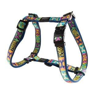 Rogz Dog Harness Pop Art Navy