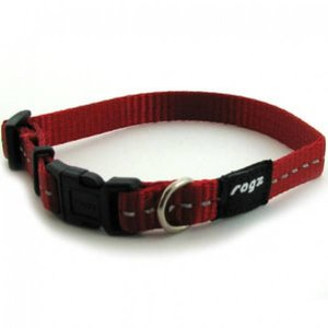 Rogz Dog Collar Utility Red