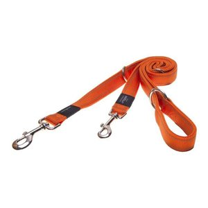 Rogz Dog Leash Utility Multi Purpose Orange