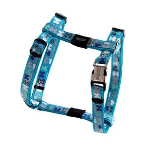 Rogz Dog Harness Trendy Blue Bones
