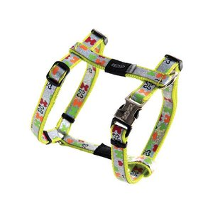 Rogz Dog Harness Trendy Multi Bones