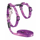 Rogz Cat Harness KiddyCat Purple Dragonfly