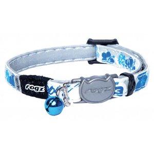 Rogz Kattenhalsband GlowCat Blue Floral