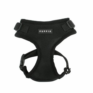 Puppia Dog Harness Ritefit Black