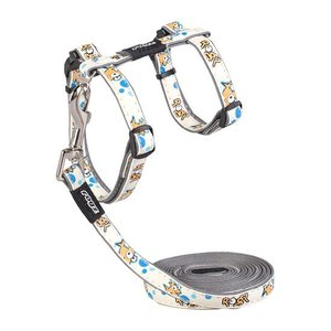 Rogz Cat Harness GlowCat Gold Fish