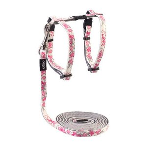 Rogz Cat Harness GlowCat Pink Butterflies