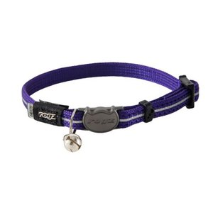 Rogz Cat Collar AlleyCat Purple