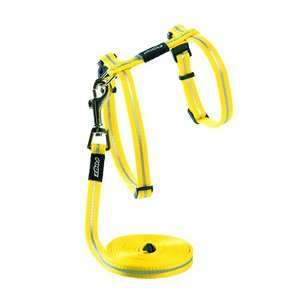 Rogz Cat Harness AlleyCat Yellow