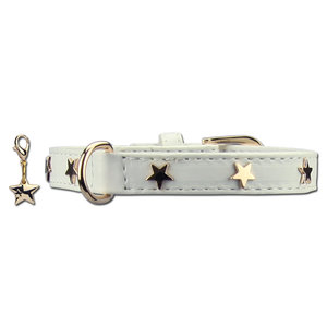 Doxtasy Dog Collar Twinkle Little Star White