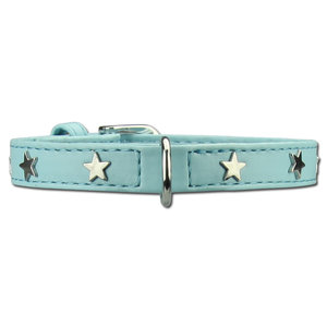 Doxtasy Dog Collar Twinkle Little Star Baby Blue