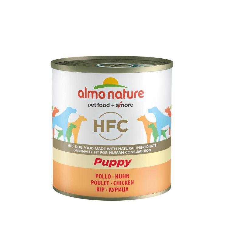 Puppyvoer HFC met kip 12 x 280 gr