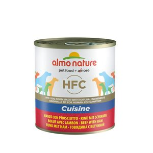 Almo Nature Dog Food HFC Beef with Ham 12 x 290 gr
