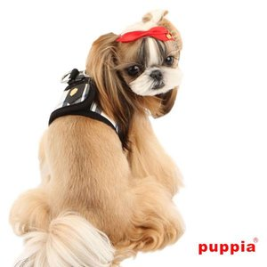 Puppia Hondentuig Junior Harness Zwart