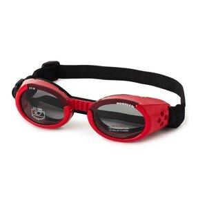Doggles Dog Sunglasses Shiny Red