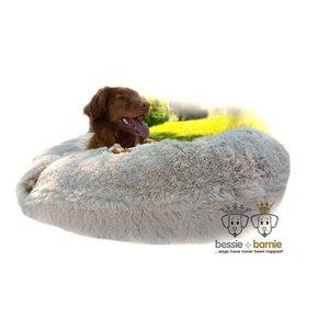 Bessie and Barnie Dog Bagel Bed Blondie