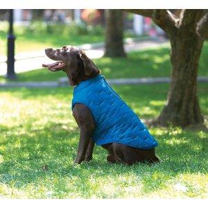 Kurgo Hondenjas Jacket Loft Blauw / Oranje