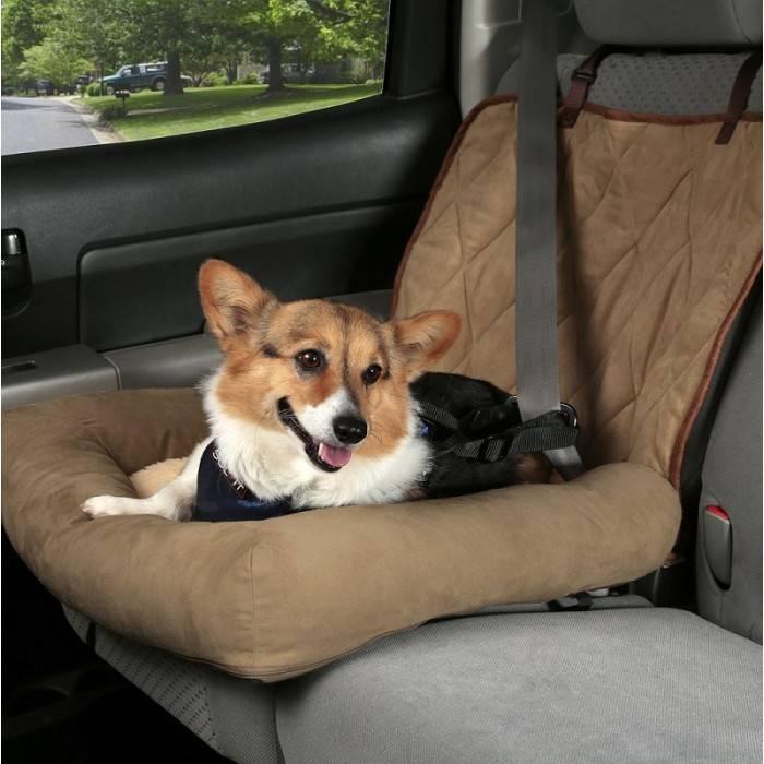 Hondenzitje Car Cuddler Bruin