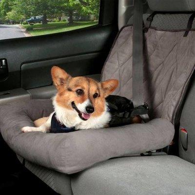 Solvit Hondenzitje Car Cuddler Grijs