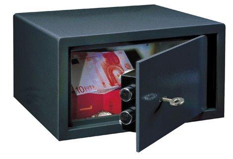 Meubelkluis - Privekluis LE 17 sleutelslot sluiting (Antraciet)