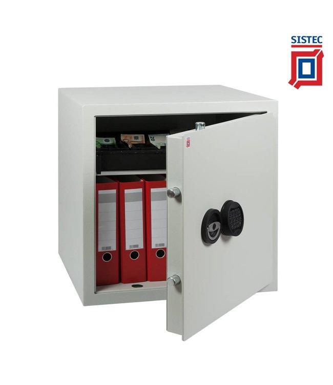 Sistec MT6+ SKG Gecertificeerd brandwerende kluis elektronisch slot Extra Breed