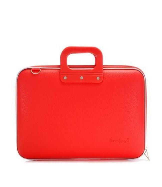 Bombata Classic Laptoptas 15,6 inch Rood