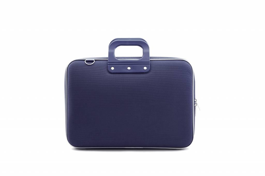 Schoudertas Laptop 13 Inch : Bombata cocco laptoptas blauw mat