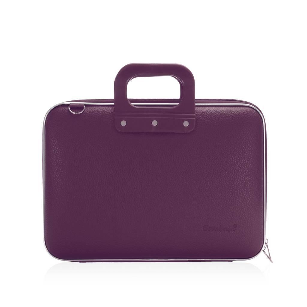Schoudertas Laptop 13 Inch : Bombata medio laptoptas inch paars