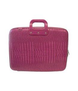 Bombata Cocco Laptoptas 17,3 Inch Dark Pink Mat