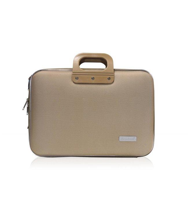 Bombata Business Laptoptas 15,6 inch Nylon Grijs/Bruin