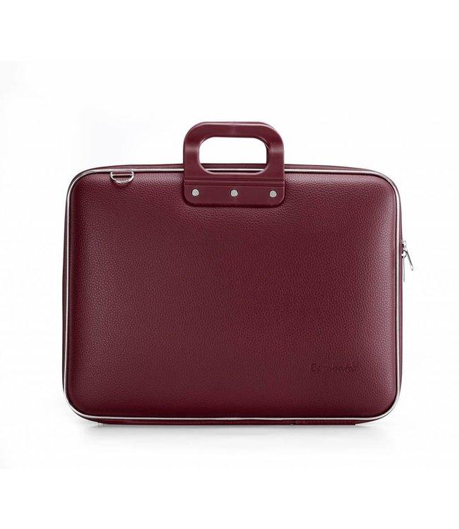 Bombata Maxi Laptoptas 17,3 Inch Burgundy
