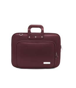 Bombata PLUS Classic Laptoptas 15,6 inch Burgundy