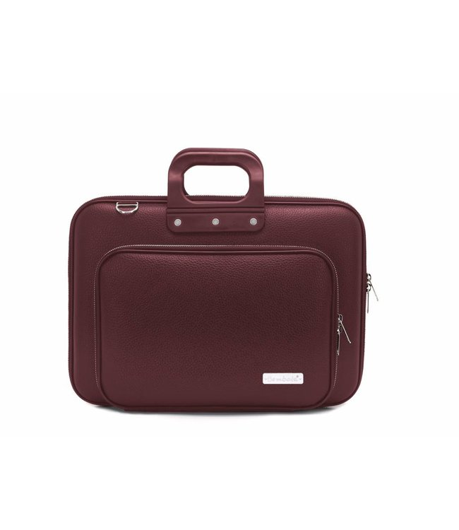 Bombata PLUS Classic Laptoptas 15,6 inch Burgundy