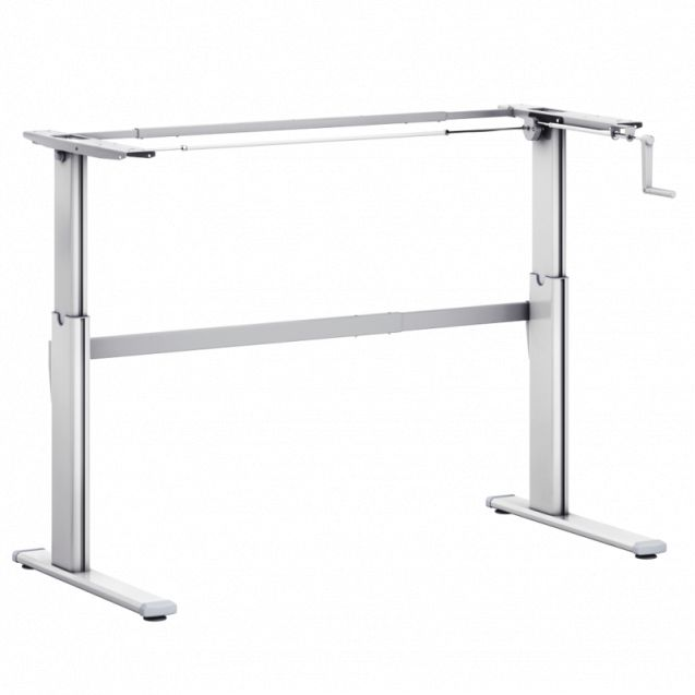 zit sta bureau tafel zit sta aluforce pro 110hc handmatig. Black Bedroom Furniture Sets. Home Design Ideas