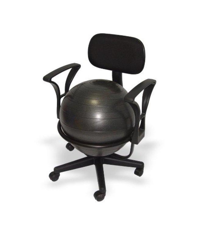 ErgonomieWinkel.nl Bureau balstoel voor volwassenen - zitbal - met lendensteunenBureau balstoel voor volwassenen - zitbal - met lendensteunen