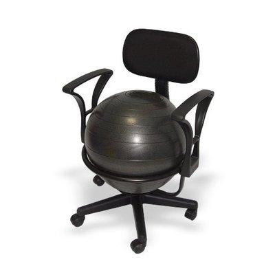 Bureaubalstoel met lendensteun