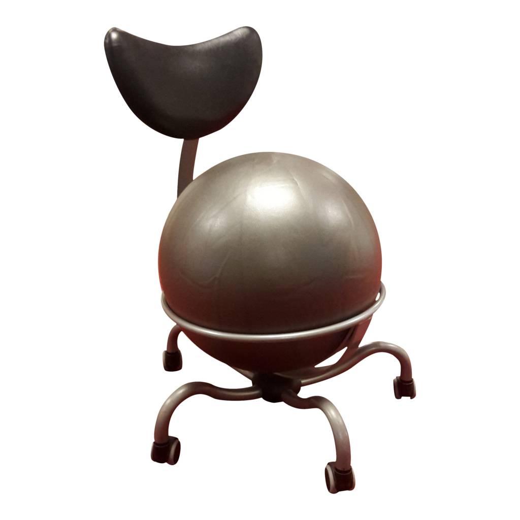 Balstoel 142A (Pallosit) (zitbal) Antraciet-Grijs