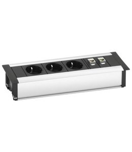 Evoline Frame-Dock DATA SMALL (3x230V) (2xRJ45)