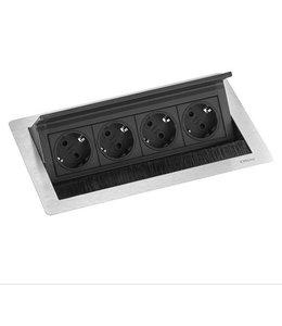 Evoline Fliptop RVS Push M (4x230V)