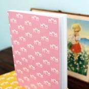 Blafre Design Notebook rosa bambi