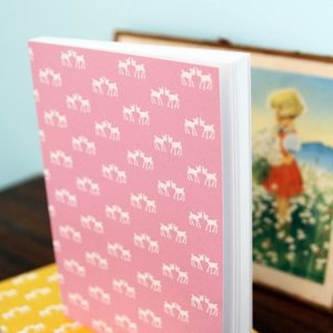 Blafre Design notebook pink deer