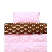 Blafre Design crib duvet pink deer