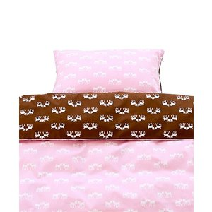 Blafre Design 1 persons pink deer duvet