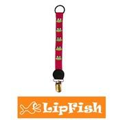 Lipfish Schnuller Clip Kirsche Frosch