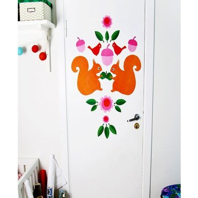 Blafre Design wall sticker squirrel